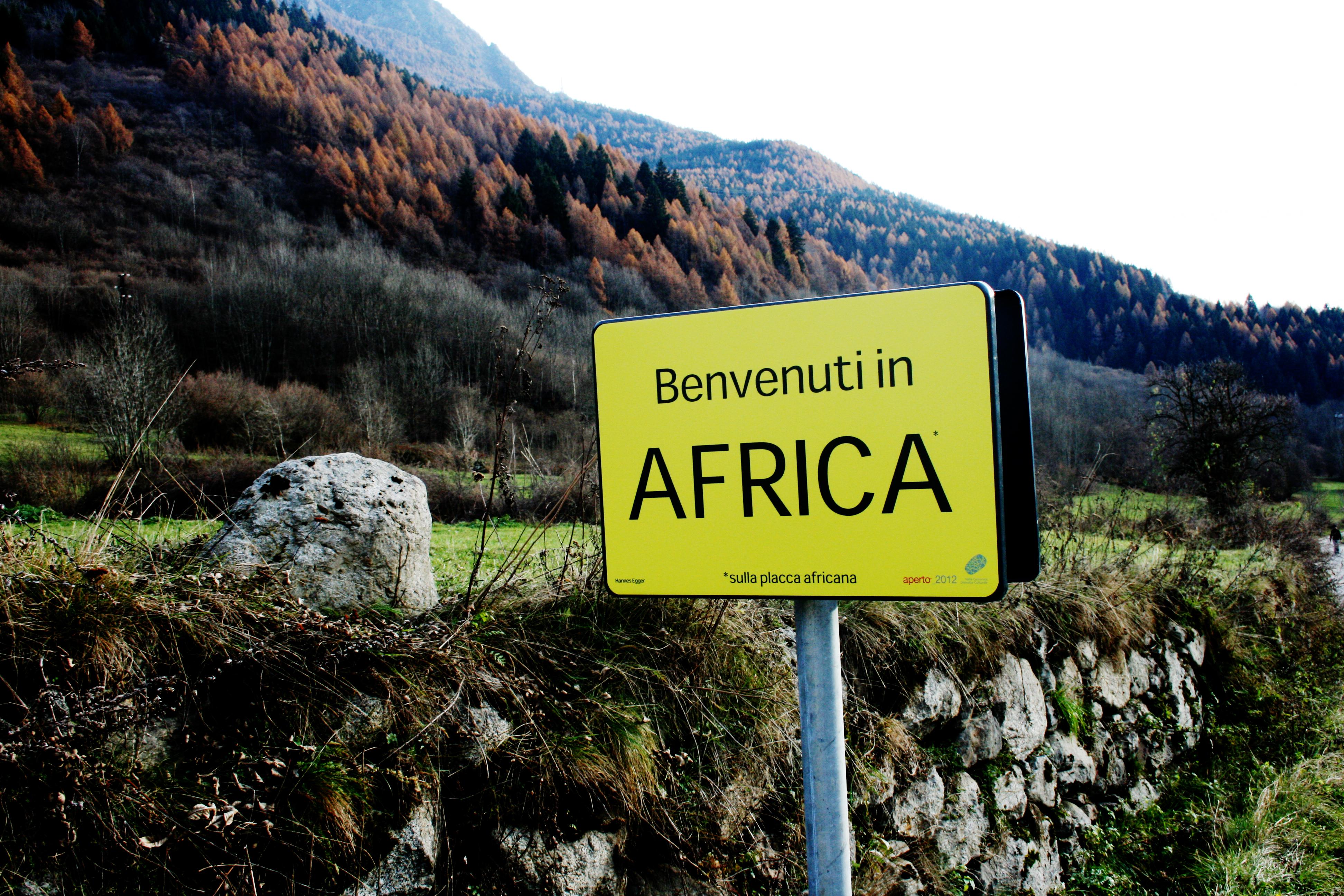 Hannes Egger, Benvenuti in Africa, 2012