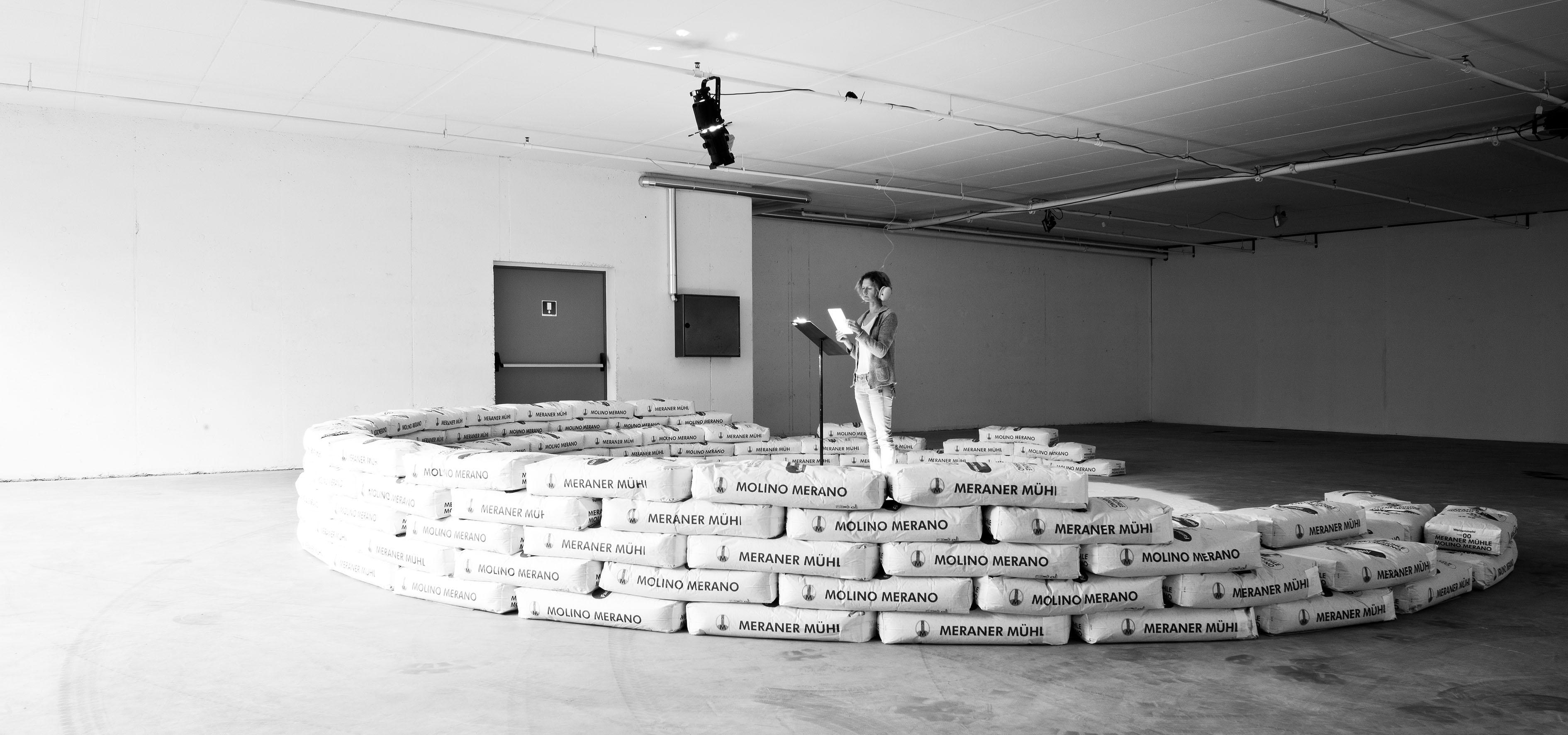 Hannes Egger, Flour Arena, 2015