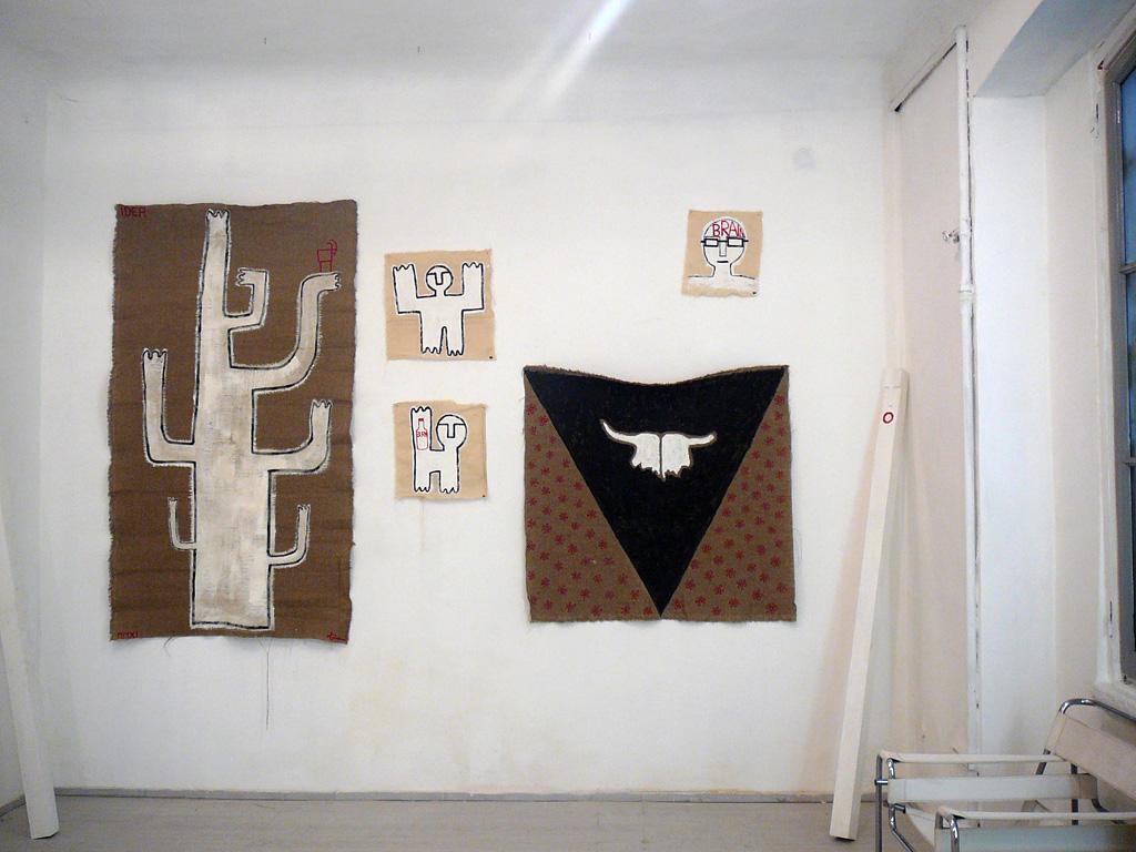 Hannes Egger,Installation view, Galeria Maria Cilena (Milano)