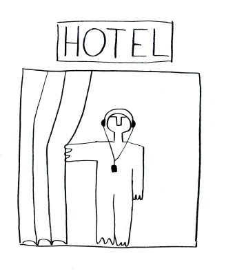 Hannes Egger, Hotel Cubo