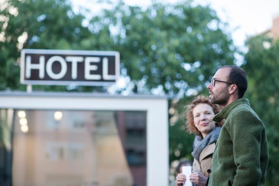 Hannes Egger, Hotel Cubo (Foto: Luca Meneghel)