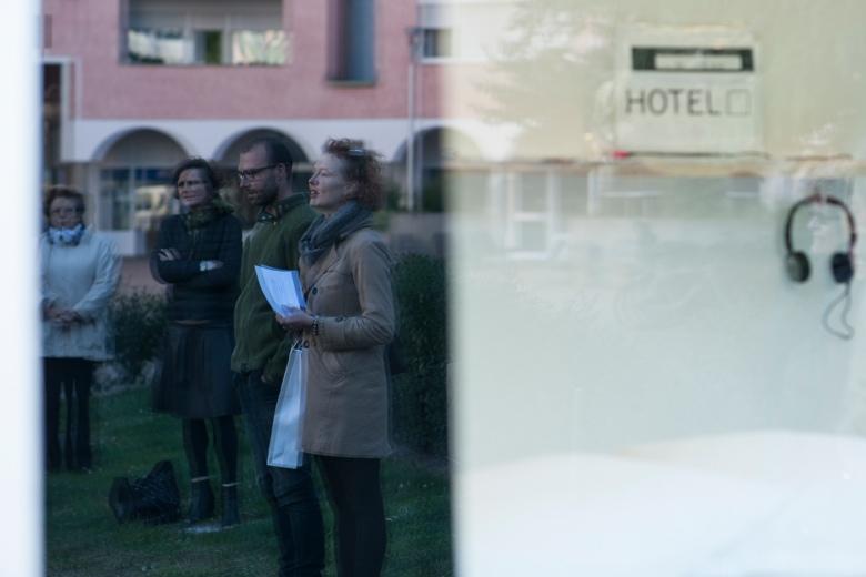 Hannes Egger, Hotel Cubo, Foto: Luca Meneghel