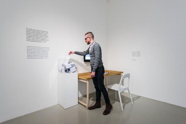 Hannes Egger, Relief – A Questionnaire, 2014