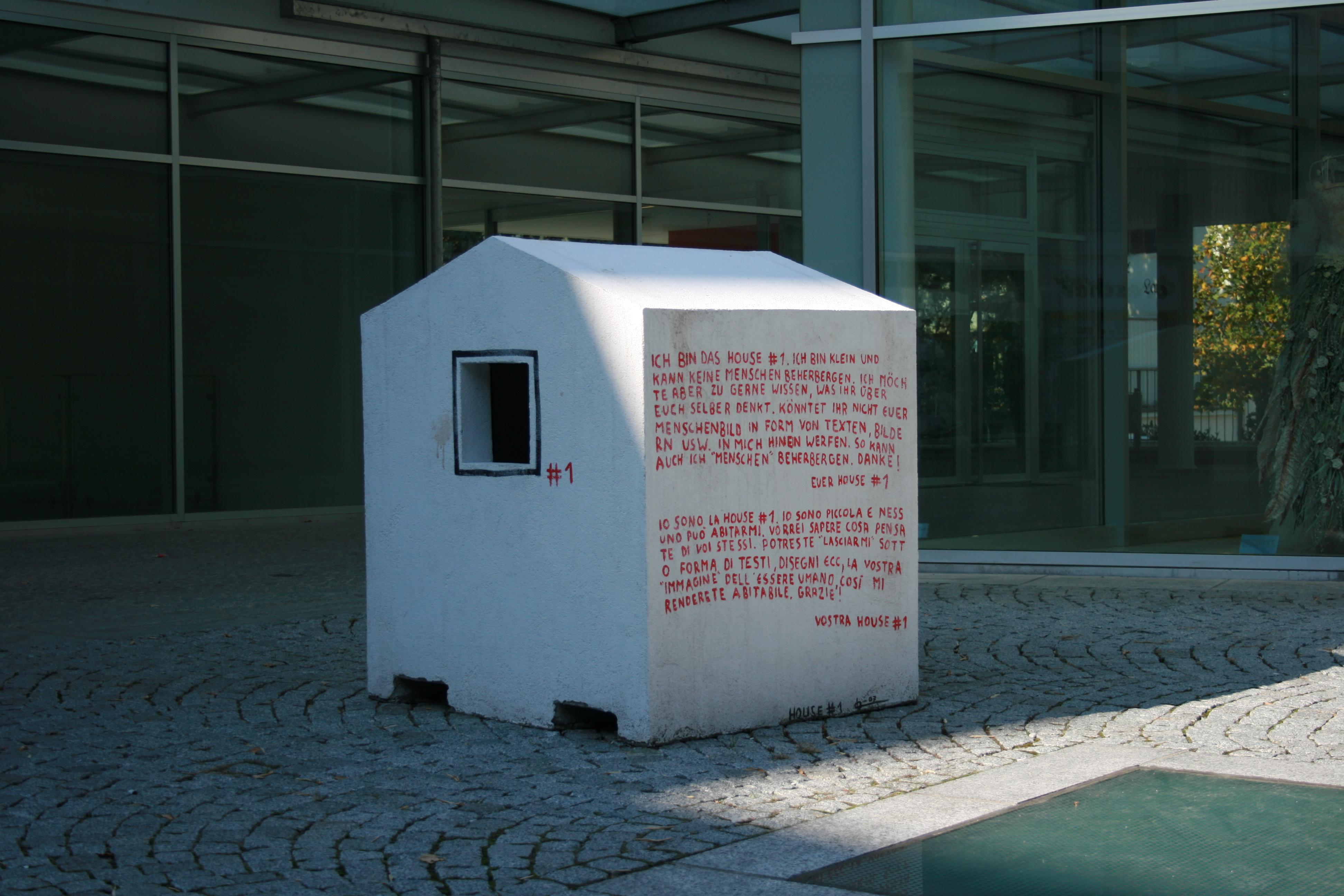 Hannes Egger, House #1, 2007